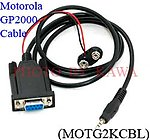 1x MOTG2KCBL RS232 Programming cable for Motorola GP2000 P040 CP200 NEW