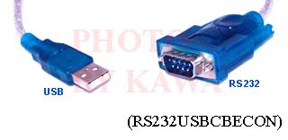 1x RS232USBCBECON USB SERIAL RS232 DB9 CABLE for VISTA XP